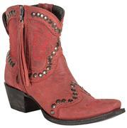 Double D Ranch Garcitas Red Half Pint Women's Boots