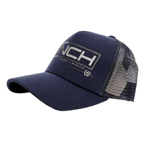 Cinch Snapback Navy Trucker Meshback Cap