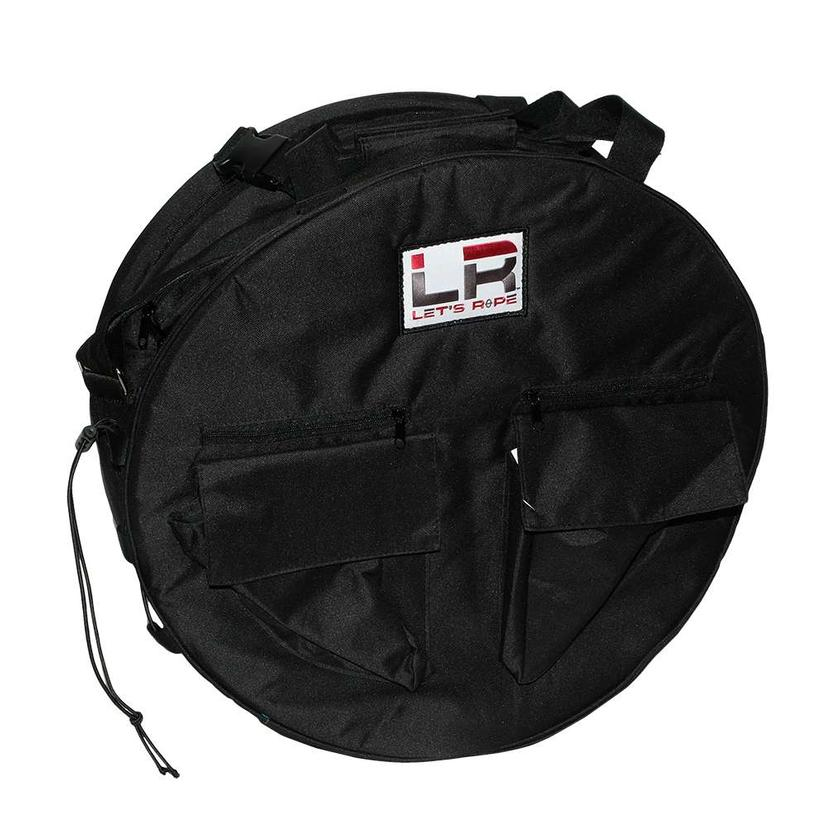 Let's Rope Black Rope Bag