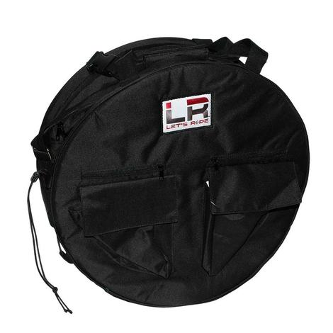 Let's Rope Black Rope Bag