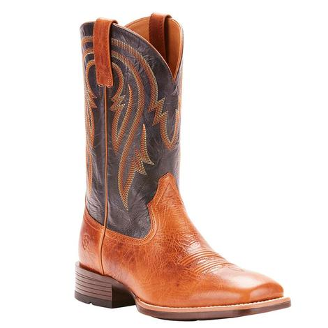 Ariat Plano Gingersnap Blue Men's Boots