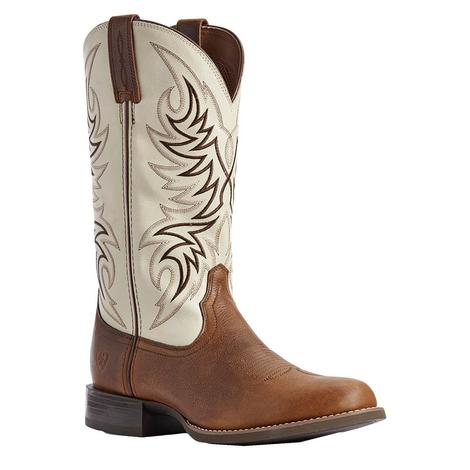 Ariat Sport Horseman Brown Ivory Men's Boot