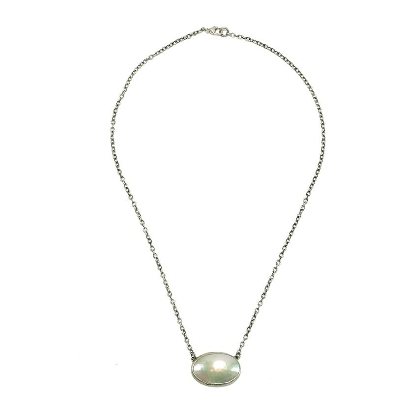 Love Tokens Mother Of Pearl Choker Necklace