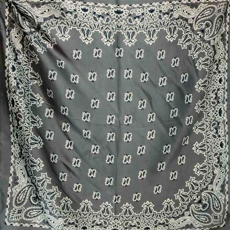 Wild Rags Grey Bandana 27x27