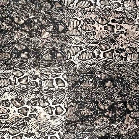 Wild Rags Snakebit Snakeskin Print 27x27