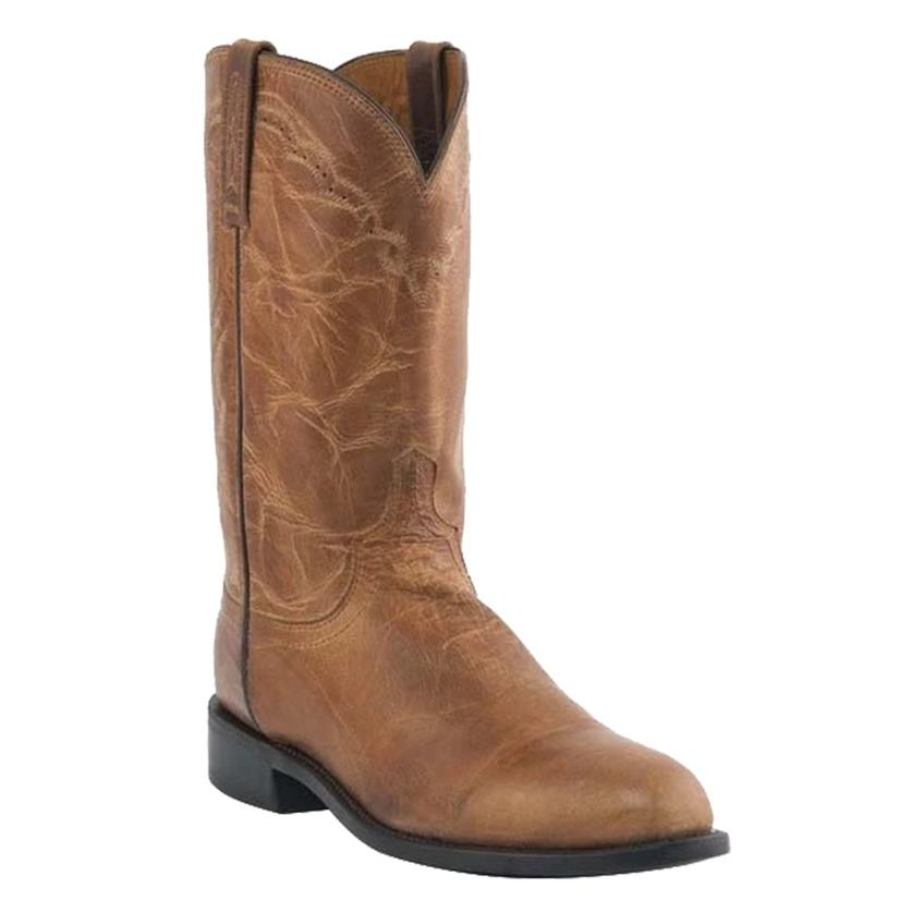 Lucchese Tan Mad Dog Goat Roper Men's Boots
