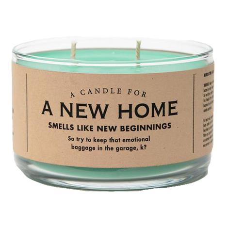Whiskey River Soap - A New Home Candle 10oz