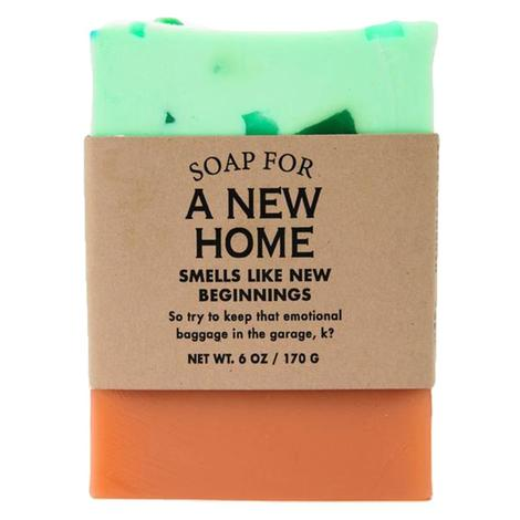 Whiskey River Soap - A New Home Soap 6oz