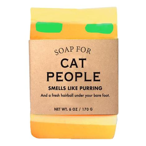 Whiskey River Soap - Cat People Soap 6oz