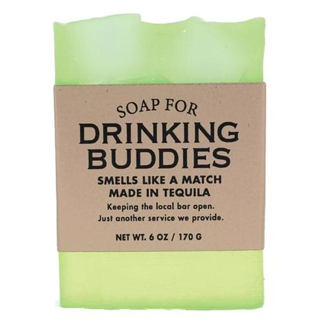 Whiskey River Soap Company - Drinking Buddies Soap 6oz