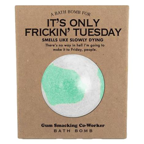 Whiskey River Soap Company - It's Only Frickin Tuesday Bath Bomb 6oz