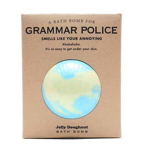 Whiskey River Soap Company - Grammar Police Bath Bomb 6oz