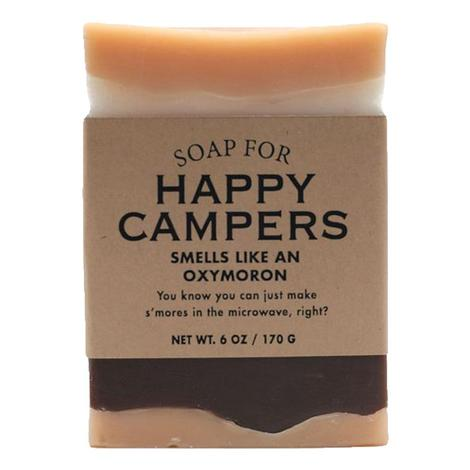 Whiskey River Soap Company - Happy Campers Soap 6oz