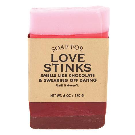 Whiskey River Soap Company - Love Stinks 6oz