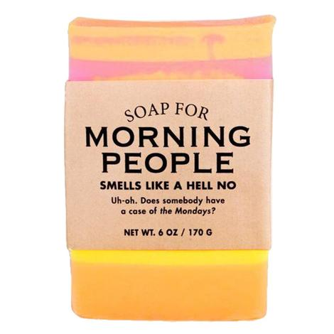 Whiskey River Soap Company - Morning People Soap 6oz