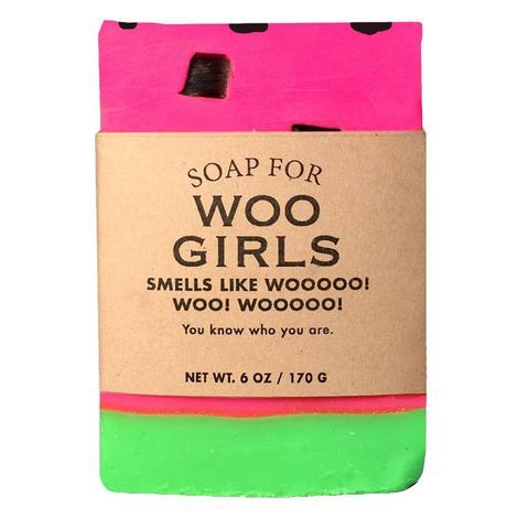 Whiskey River Soap Company - Woo Girls Soap 6oz