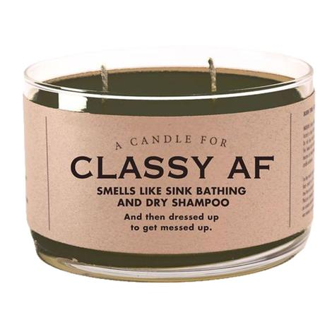 Whiskey River Soap Company - Classy AF Candle 17oz