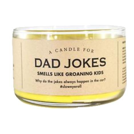 Whiskey River Soap Company - Dad Jokes Candle 17oz