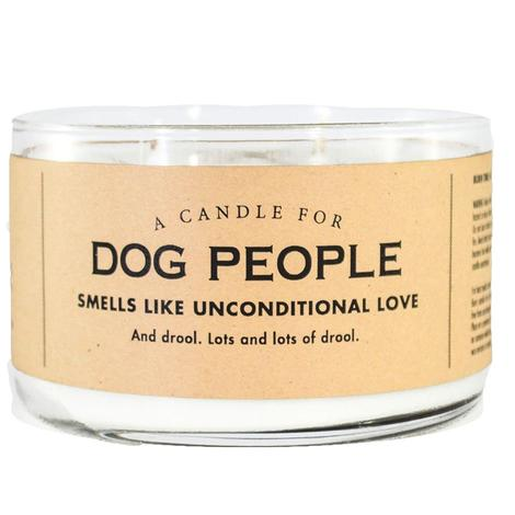 Whiskey River Soap Company - Dog People Candle 17oz