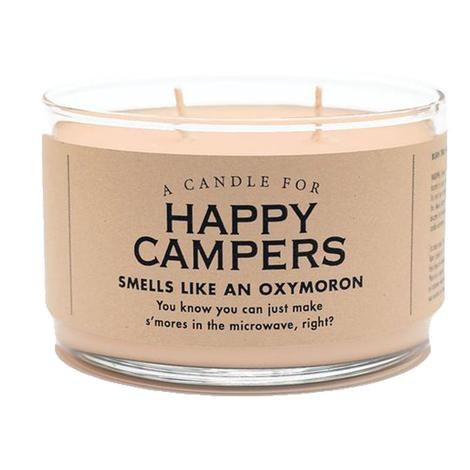 Whiskey River Soap - Happy Campers Candle 10oz
