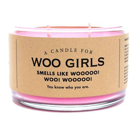 Whiskey River Soap - Woo Girls Candle 17oz