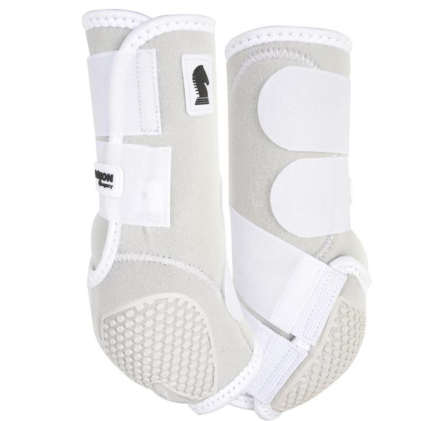 Classic Equine Flexion By Legacy Sport Boots Front WHITE