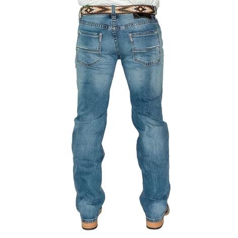 Rock and Roll Pistol Straight Medium Vintage Men's Jeans