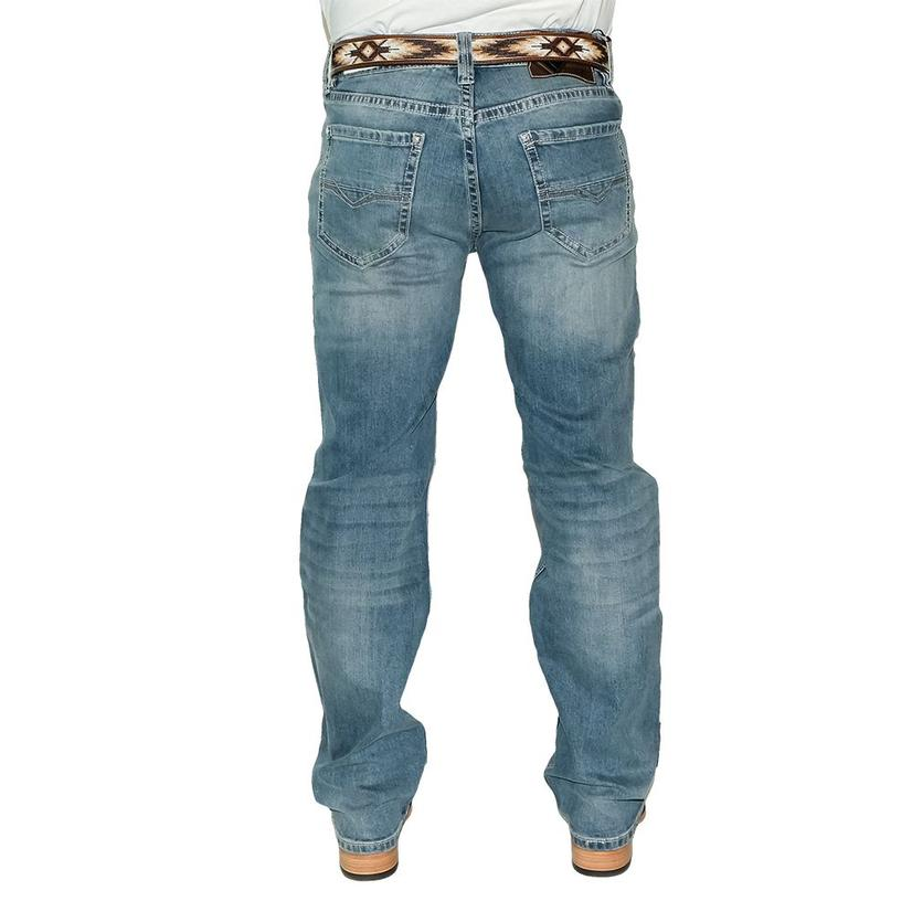 Rock And Roll Cowboy Double Barrel Straight Medium Vintage Men's Jeans