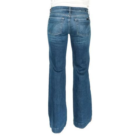 7 for All Mankind Dark New York Women's Dojo Trouser Jeans