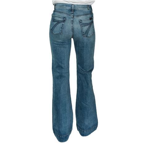 7 For All Mankind Modern Dojo Canyon Ranch Women's Trouser Jeans