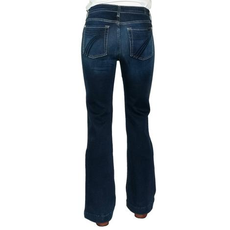 7 For All Mankind Tailorless Dojo Women's Trouser Jeans