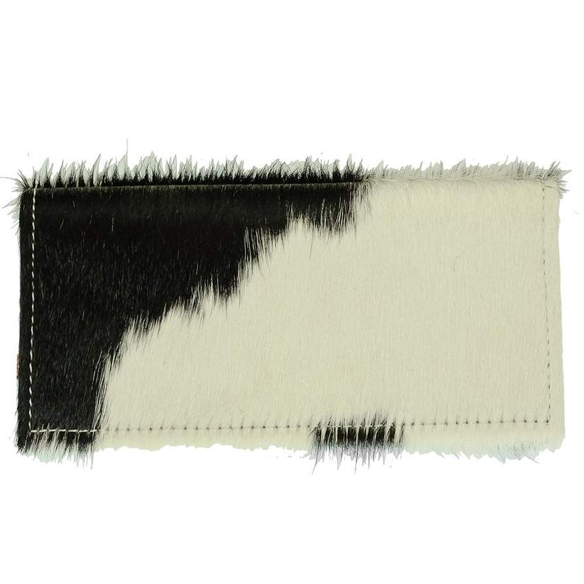 American Darling Bags Black And White Hide Wallet