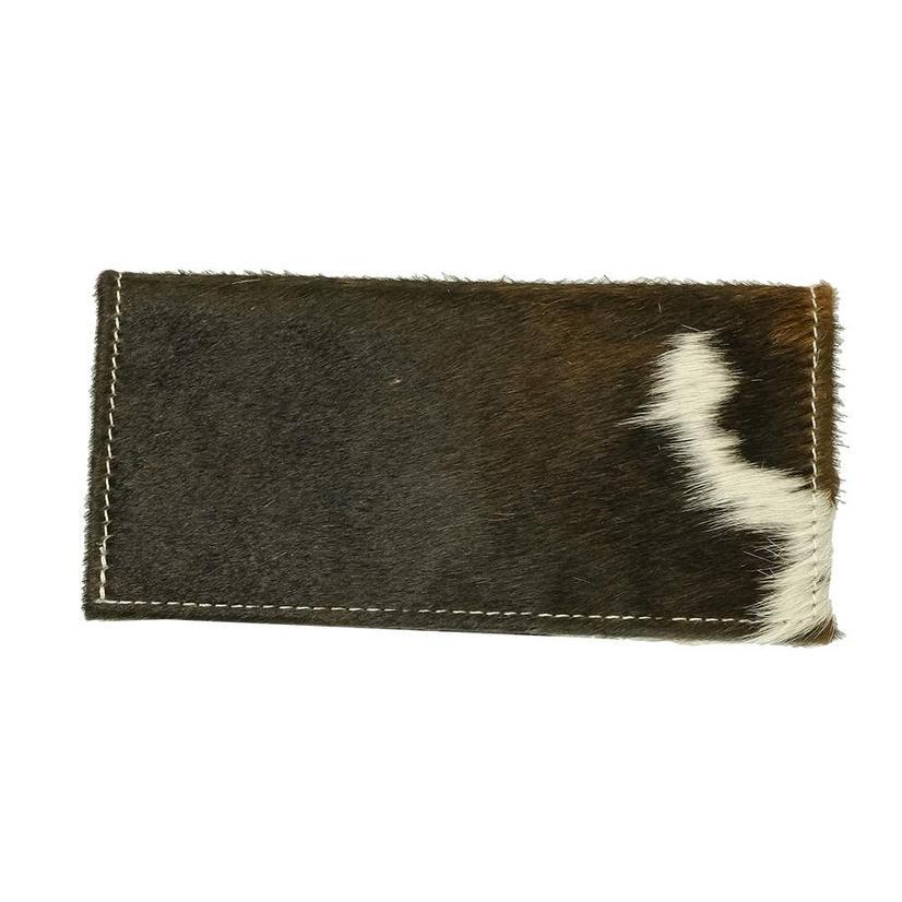 American Darling Bags Brown And White Hide Wallet