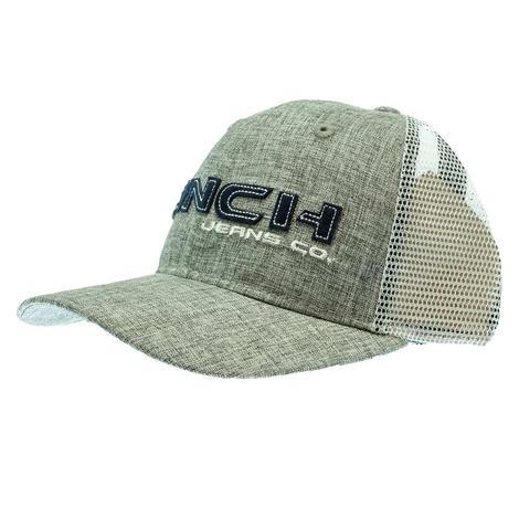 Cinch Grey Trucker Meshback Cap