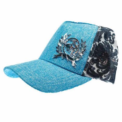 Cinch Blue Damask Meshback Cap