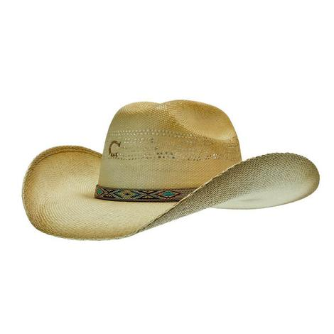 Charlie 1 Horse Hog Wash 3.75 Brim Wheat Straw Hat