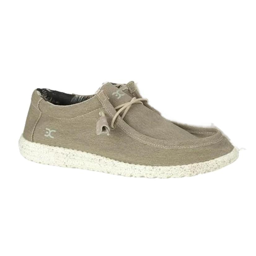 Hey Dude Wally Stretch Beige Men's Shoes