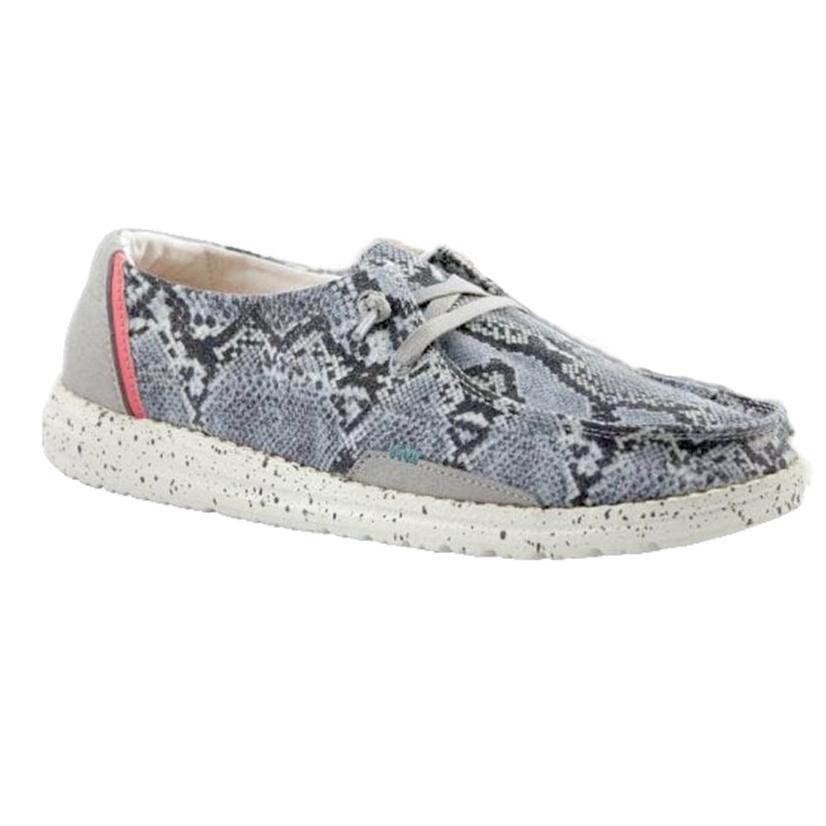 Hey Dude Wendy Jungle Grey Women's Shoes