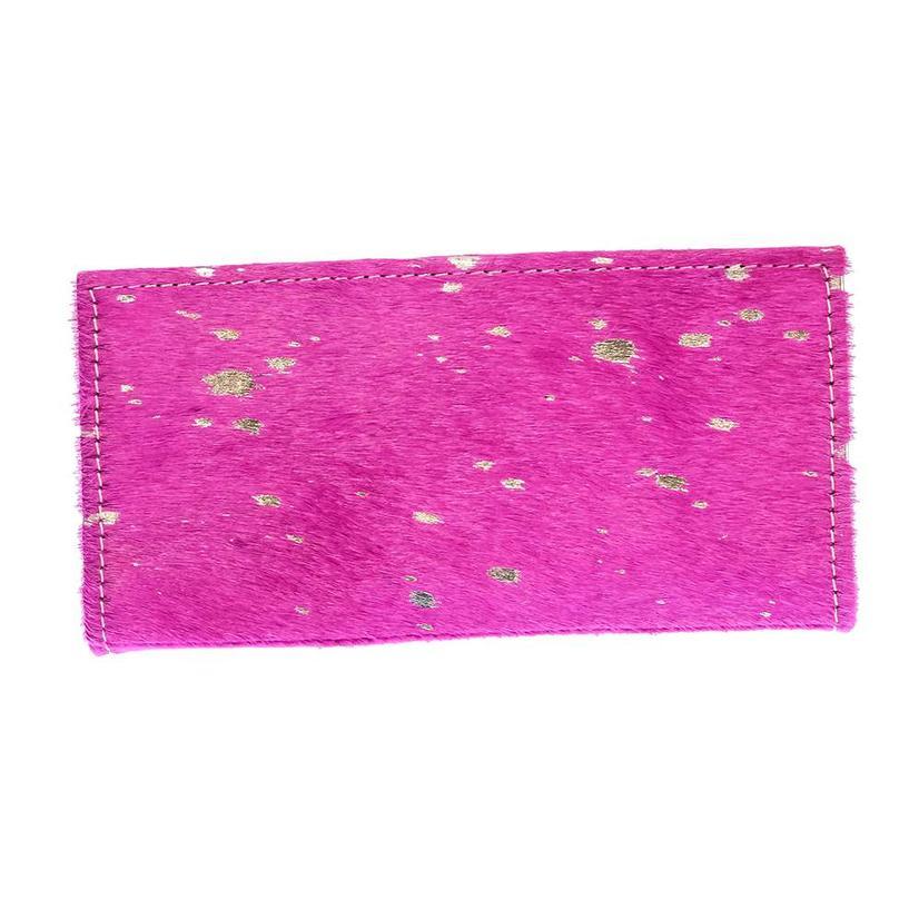 American Darling Bags Pink Acid Wash Wallet