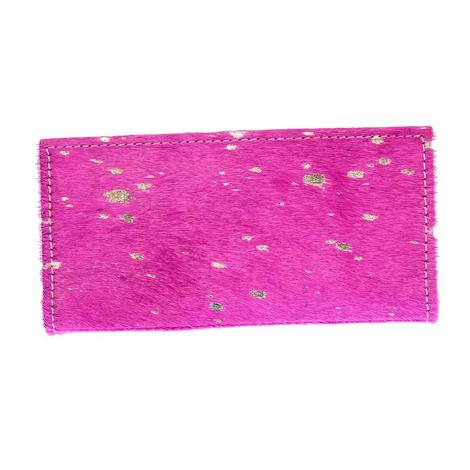 American Darling Bags Pink Acid Wash Wallet