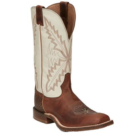 Tony Lama Antonio Hazel Cognac TLX Performance Men's Boots