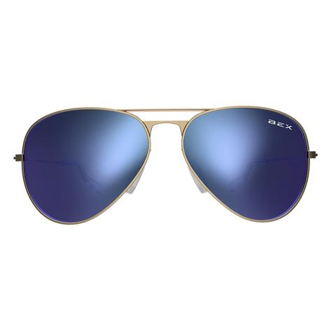 BEX Wesley Gold Sky Sunglasses