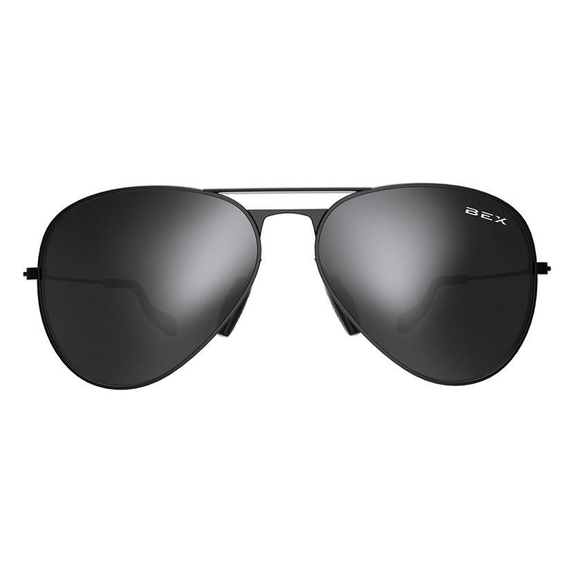 Bex Wesley Black Grey Sunglasses