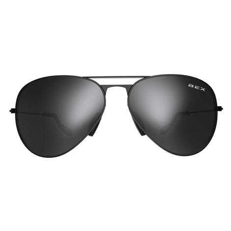 BEX Wesley Black Grey Sunglasses