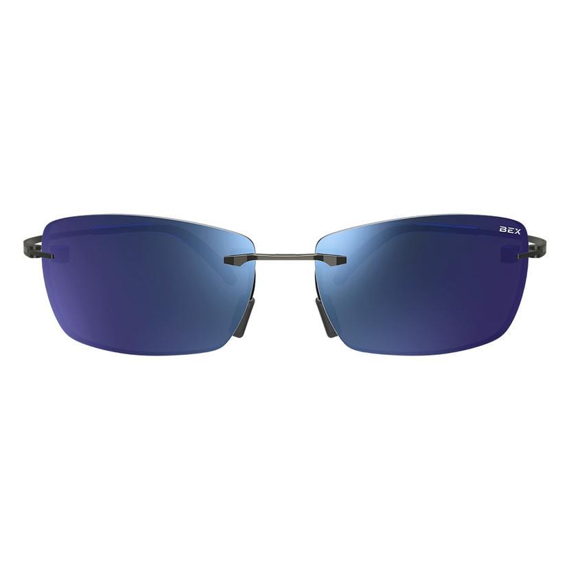 Bex Fynnland Gunmetal Iris Sunglasses