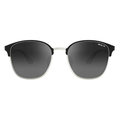 BEX Tanaya Black Silver Sunglassses