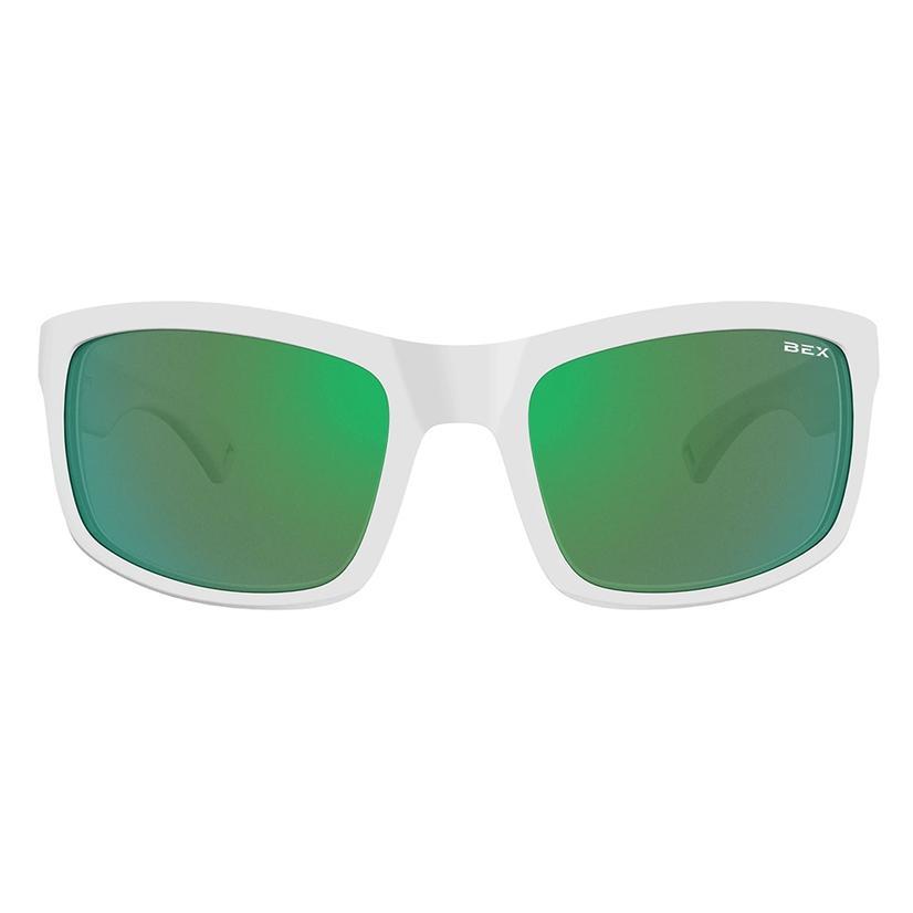 Bex Ghavert Fx White Green Sunglasses