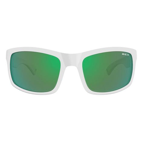 BEX Ghavert FX White Green Sunglasses