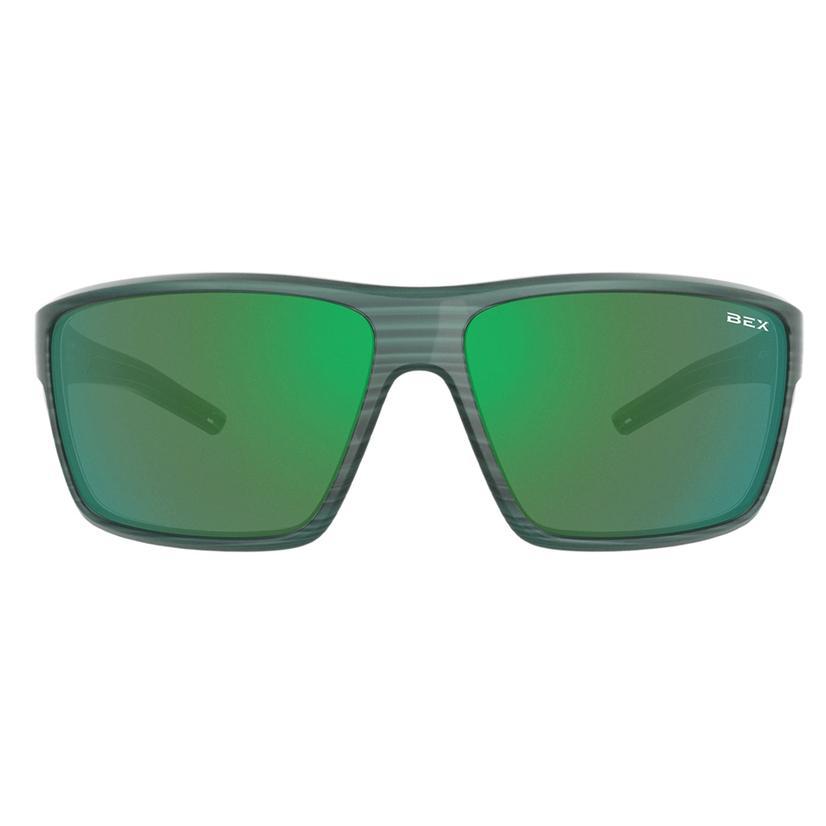 Bex Fin Forest Green Sunglasses