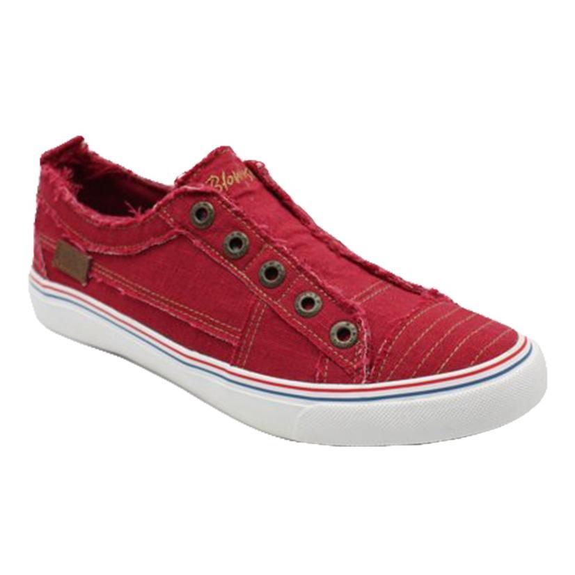Blowfish Jester Red Slip On Women's Shoes